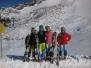 Prvi treningi na ledeniku Mölltal
